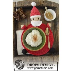 Brunch with Santa by DROPS Design - Bordstablett Virk-opskrift 22 cm