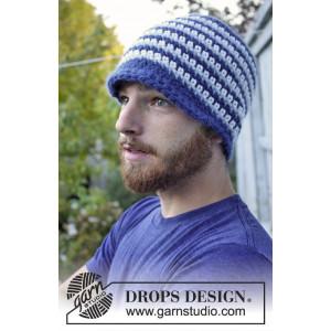 Daniel by DROPS Design - Mössa Virk-opskrift strl. 3/5 år - L/XL