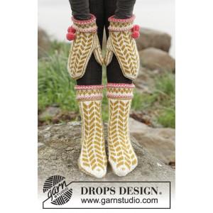 Hokey Pokey by DROPS Design - Vantar och sockar Stick-opskrift strl. 35/37 - 41/43