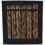 KnitPro Symfonie Strumpstickset Björk 15 cm 2-4,5 mm 6 Storlekar Svart Etui
