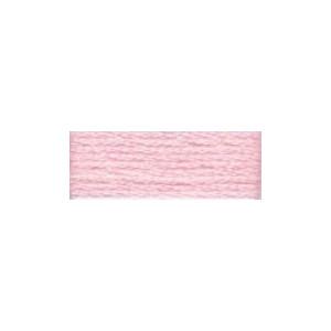 DMC Mouliné Light Effects Broderigarn E818 Soft Pink