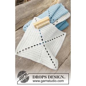 Take Care by DROPS Design - Disktrasor Virk-opskrift 24x24 cm