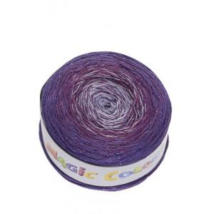 Lammy Magic Color Garn Print 908 Lavendel Lurex