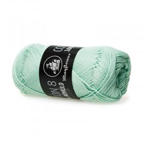 Mayflower Cotton 8/4 Garn Unicolor 1453 Pastellgrön