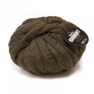 Køb Mayflower Chunky Tjockt Garn Unicolor 409 Grön Melange