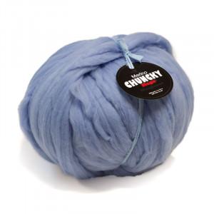Mayflower Mega Chunky Tjockt Garn Unicolor 1006 Isblå