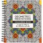 Mindfulness Målarbok Geometrisk 19,5x23 cm - 64 sidor