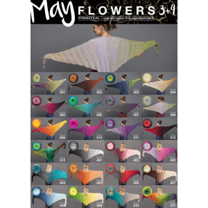 Mayflowers Stickad Sjal - Sjal Stickbeskrivning