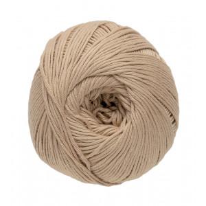 DMC Natura Just Cotton Garn Unicolor 37 Ljusbrun