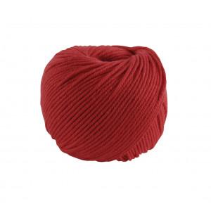 DMC Natura Medium Garn Unicolor 55 Röd