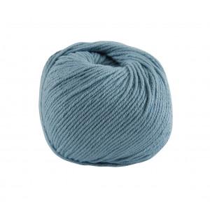 DMC Natura Medium Garn Unicolor 77 Stålblå