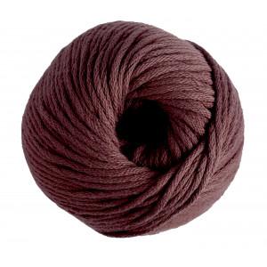 DMC Natura XL Garn Unicolor 111 Rödbrun