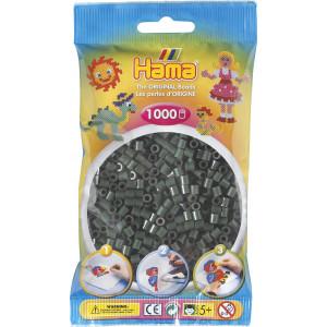 Hama Midi Pärlor 207-28 Mörkgrön - 1000 st.