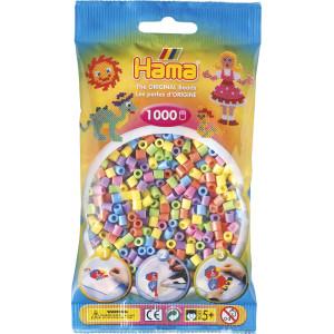 Hama Midi Pärlor 207-50 Pastell Mix 50 - 1000 st.