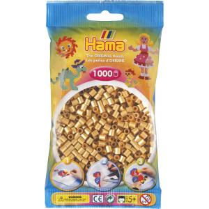 Hama Midi Pärlor 207-61 Guld - 1000 st.