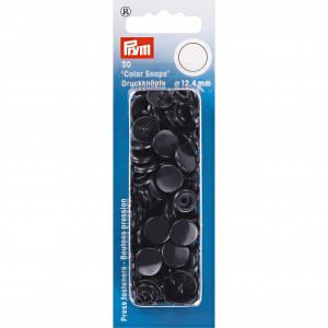 Prym Color Snaps Tryckknappar Plast Rund Marin 12,4mm - 30 st.