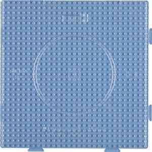 Hama Midi Pärlplatta Samlingsplatta Fyrkant Transparent 14,5x14,5cm -