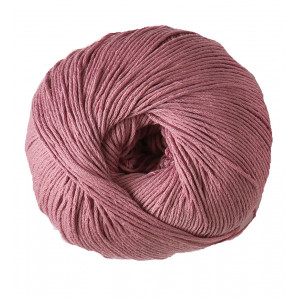 DMC Natura Just Cotton Garn Unicolor 07 Ljus Gammalrosa
