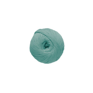 DMC Natura Just Cotton Garn Unicolor 20 Ljus Turkos