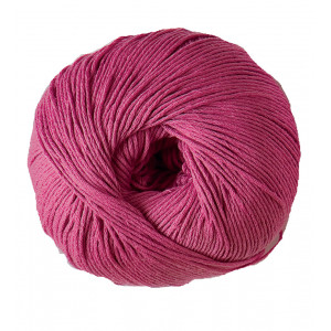 DMC Natura Just Cotton Garn Unicolor 62 Cerise