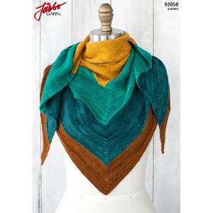 Islamorada Sjal - Sjal Stick-opskrift 152x66cm