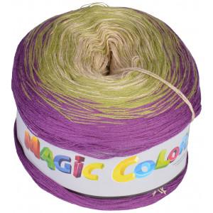 Lammy Magic Color Garn Print 614 Ljung