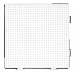 Hama Midi Pärlplatta Samlingsplatta Fyrkant Vit 14,5 x 14,5 cm - 1 st.