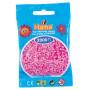 Hama Mini Pärlor 501-48 Pastell Pink - 2000 st