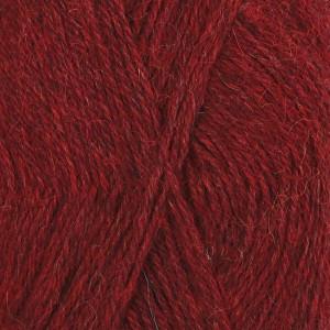 Drops Alpaca Garn Mix 3650 Röd melerad