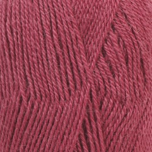 Drops Alpaca Garn Unicolor 3770 Mörk Rosa