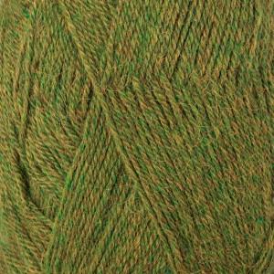 Drops Alpaca Garn Mix 7238 Mörk Oliv