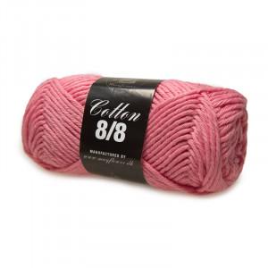 Mayflower Cotton 8/8 Big Garn Unicolor 1921 Mörk Rosa