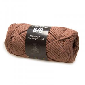Mayflower Cotton 8/8 Big Garn Unicolor 1924 Mellanbrun