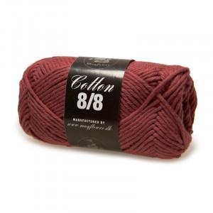 Mayflower Cotton 8/8 Big Garn Unicolor 1928 Gammelrosa