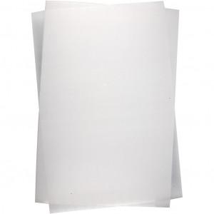 Krympplast Blank Genomskinlig 20x30cm - 10 ark