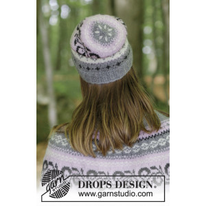 Telemark Hat by DROPS Design - Mössa Stickopskrift strl. S/M