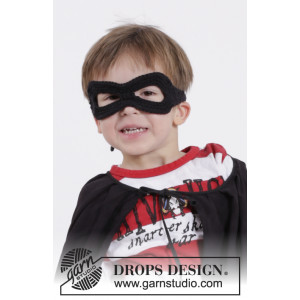 Little Zorro by DROPS Design - Mask Virkopskrift One size
