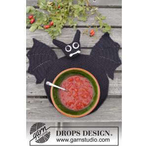 Lunch With Vlad by DROPS Design - Bordstablett Virkmönster 26 cm