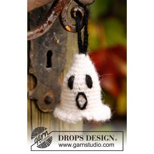 Casper by DROPS Design - Halloween Pynt Virkopskrift 4 cm