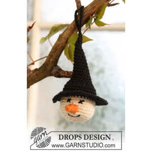 Tabitha by DROPS Design - Halloween Pynt Virkmönster
