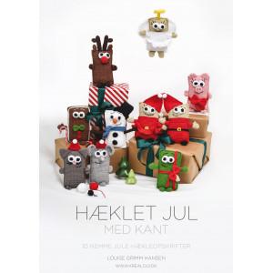 Virkad jul med kant - Bok av Louise Grimm Hansen