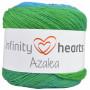Infinity Hearts Azalea Garn Print 10 Skogstjärn
