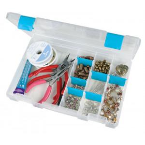 Køb ArtBin Plastlåda till knappar och tillbehör Transparent 27,3×18,7×4,5c