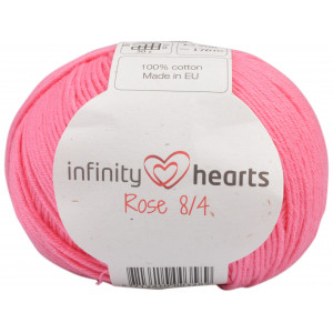 Infinity Hearts Rose 8/4 Garn Unicolor 33 Rosa