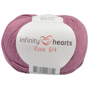 Infinity Hearts Rose 8/4 Garn Unicolor 78 Mörk Gammelrosa