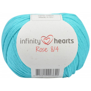 Infinity Hearts Rose 8/4 Garn Unicolor 130 Ljus Turkos