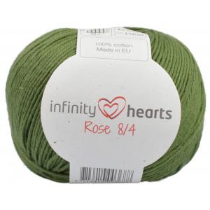 Infinity Hearts Rose 8/4 Garn Unicolor 163 Mörkgrön
