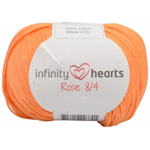 Infinity Hearts Rose 8/4 Garn Unicolor 192 Ljus Orange