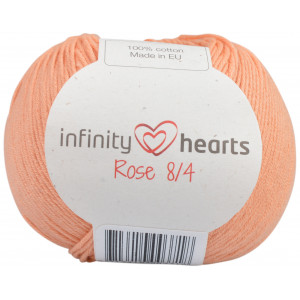 Infinity Hearts Rose 8/4 Garn Unicolor 195 Persika