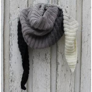 Tørklæde af Louise Grarup - Sjal Hæklekit